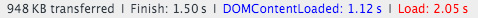 скорость загрузки главной страницы в интернет-магазине на компьютере