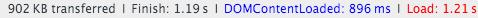 скорость загрузки главной страницы в интернет-магазине на планшете и телефоне