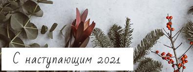 С наступающим, 2021 годом!
